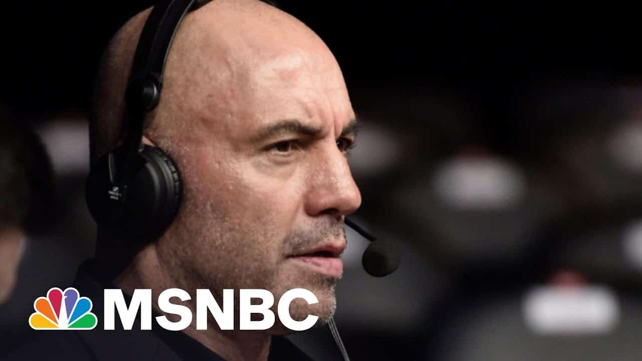 Joe Rogan, Who's Not A Doctor, Gives Terrible Vaccine Advice | The 11th Hour | MSNBC 4