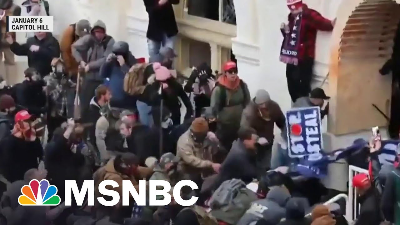 DC Police Officer Relives January 6 Attack | Morning Joe | MSNBC 1