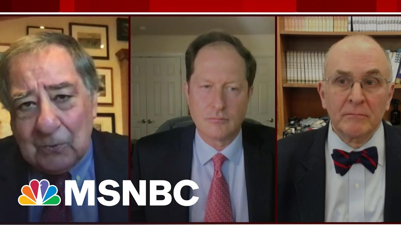 Former Defense Secretary Panetta Expresses Concern Over U.S. Troop Withdrawal   Morning Joe   MSNBC 1