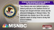 3 Men Charged With Federal Hate Crimes In Killing Of Ahmaud Arbery In Georgia | The ReidOut | MSNBC 4