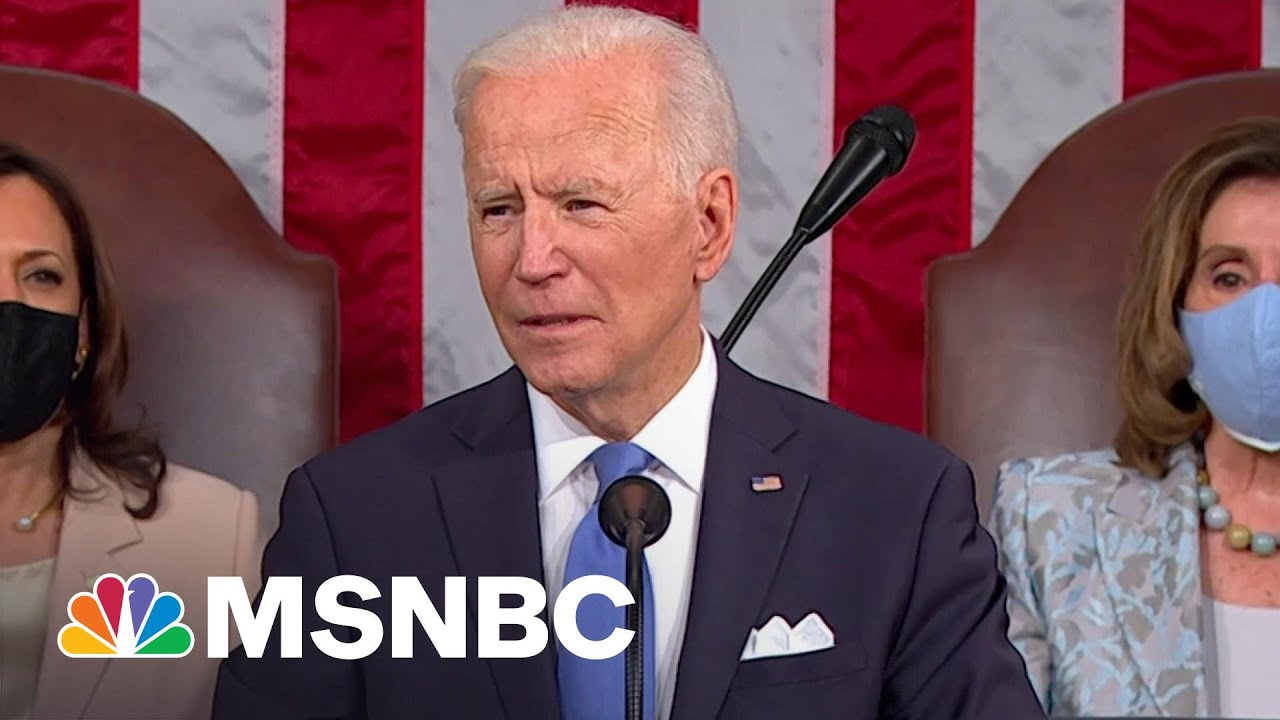 Biden On The Future Of The Country Following The Pandemic, Capitol Riot | MSNBC 1