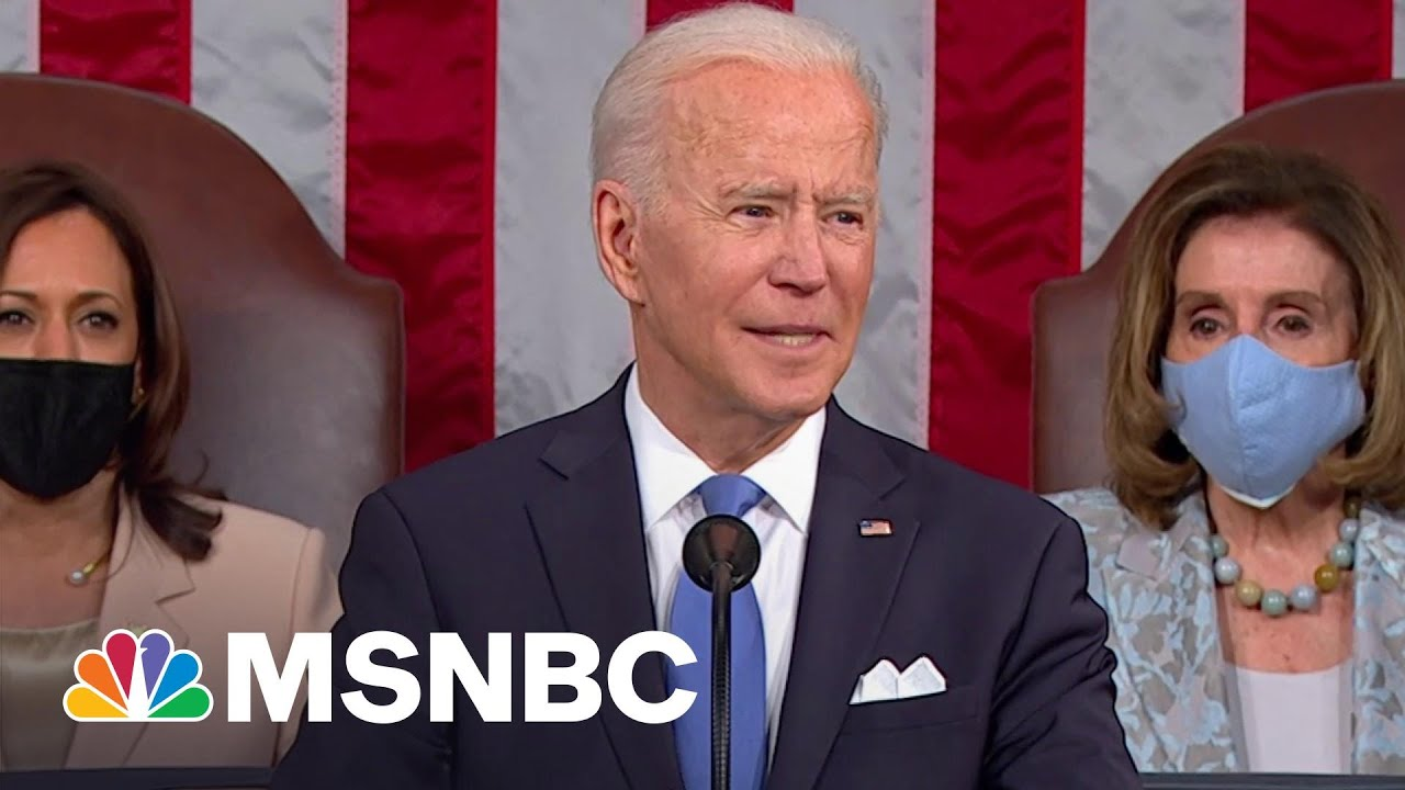 President Biden Says The Wealthy Should Pay There Fair Share In Taxes | MSNBC 1