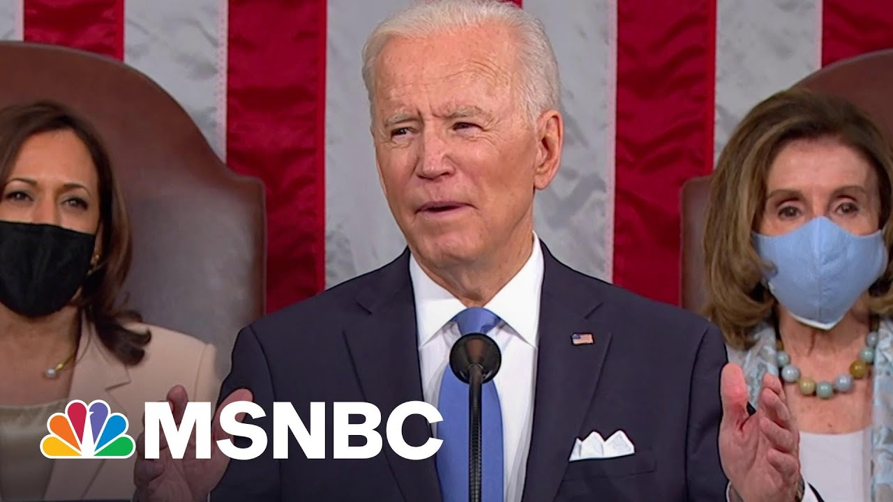 Biden Calls On Congress To Pass Police Reform   MSNBC 1