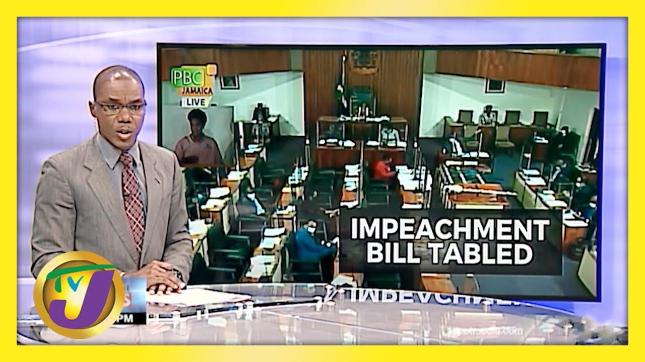 PNP Member Introduce Impeachment Bill in Jamaica's Parliament - April 27 2021 6