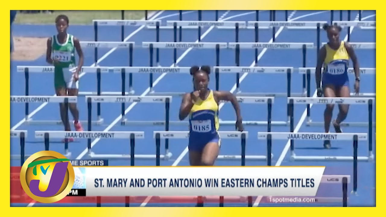 St. Mary & Port Antonio Win Jamaica Eastern Champs Titles - April 27 2021 1