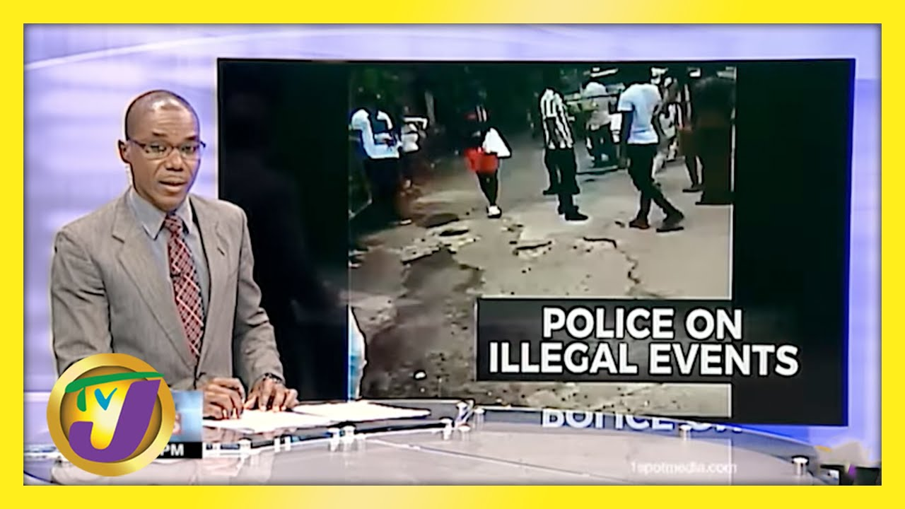 Jamaican Police Remain Resolute Against Illegal Parties | TVJ News - April 27 2021 1