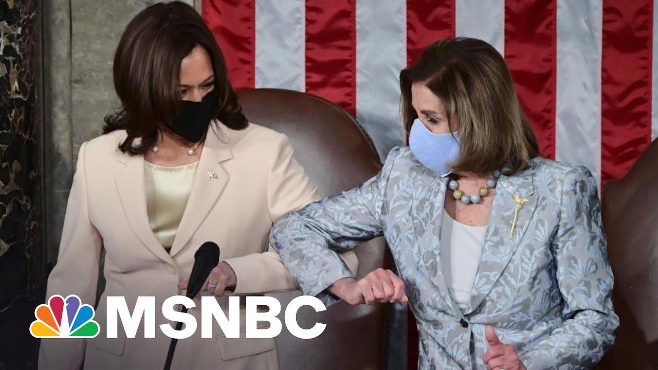 'Madam Speaker, Madam Vice President': Biden Speech Makes History | MSNBC 1