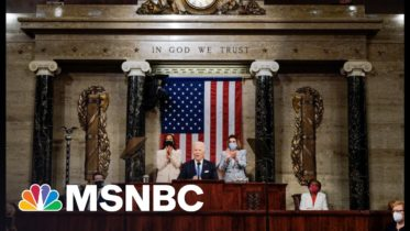Biden Declares 'The Future Will Belong To America' | The 11th Hour | MSNBC 6