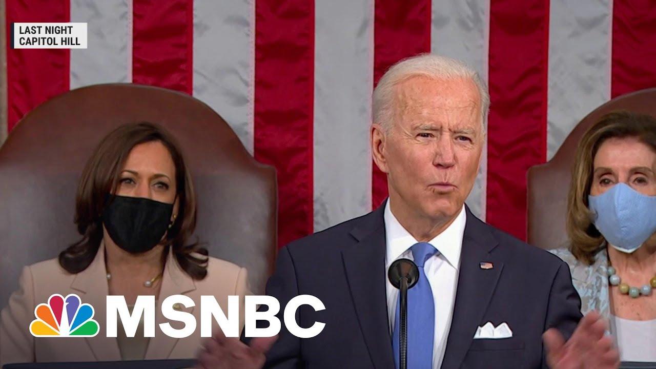 Breaking Down The President's American Families Plan | Morning Joe | MSNBC 7