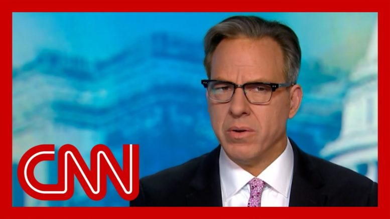 'That's a confession': Tapper on Trump's statement on his handling of pandemic 1