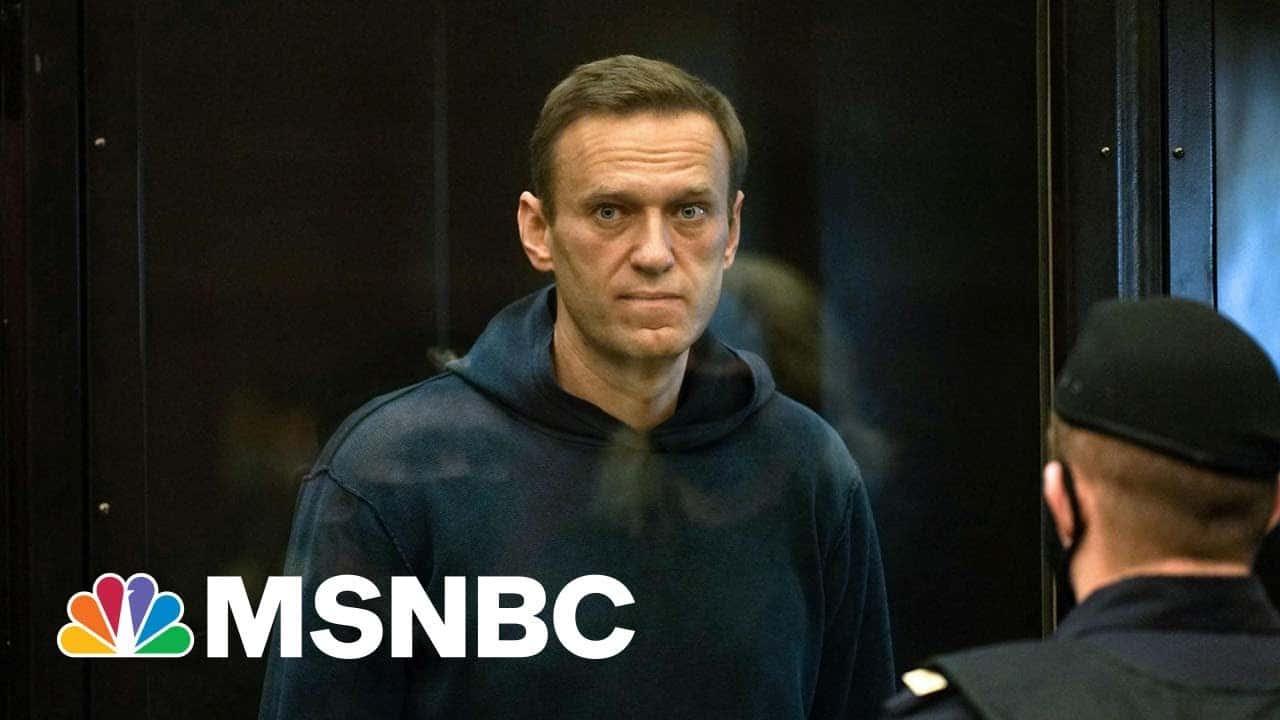 Navalny Appears In Court After Ending Hunger Strike | MSNBC 5