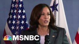 VP Harris Touts First 100 Days At Baltimore Vaccination Site | MSNBC 2