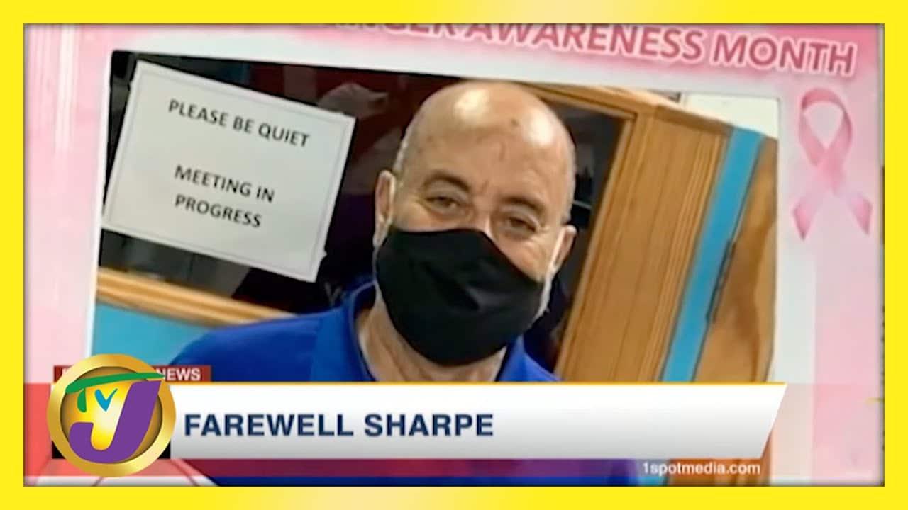 Farewell Jamaican Journalist Michael Sharpe   TVJ News - April 28 2021 1