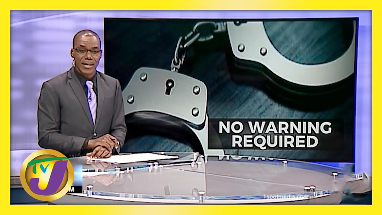 Jamaican Police No longer Require Warning for Covid Breaches   TVJ News - April 28 2021 1