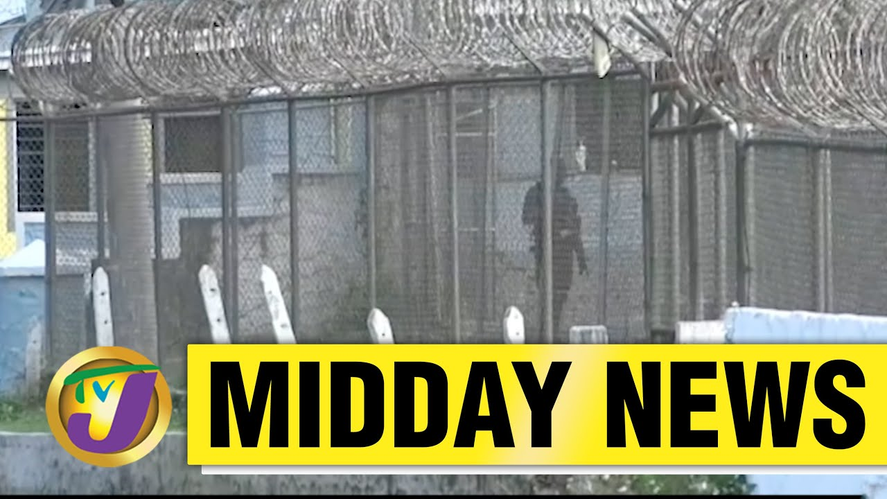 Jamaican Inmates Complain of Covid Spread - April 29 2021 1