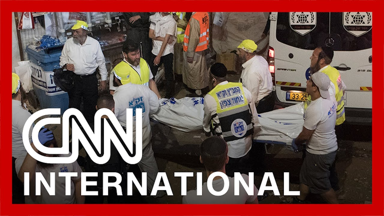 Dozens killed in crush at a mass religious event in Israel 8