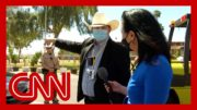 Men with badges tried to stop CNN reporter, but they weren't police 4