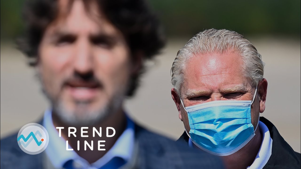 Several premiers continue to blame Prime Minister Trudeau for the COVID-19 third wave | TREND LINE 1