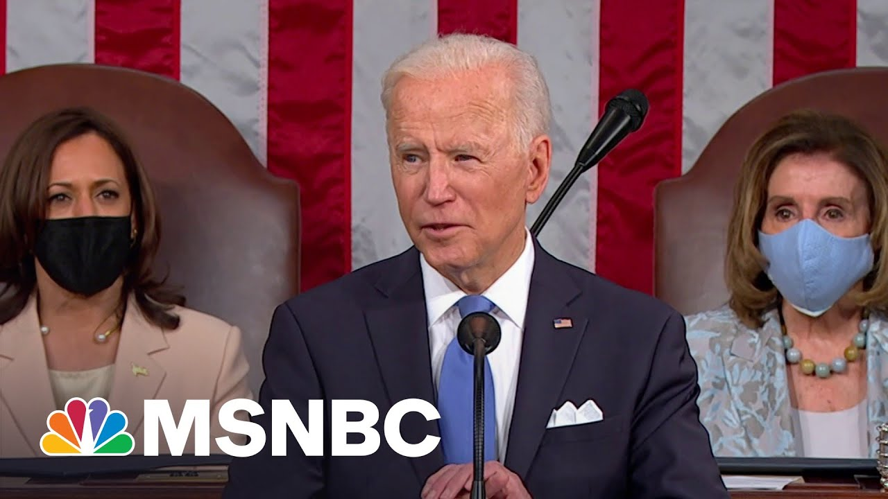 Biden Plans To Use Infrastructure Jobs To Combat Climate Change   The Last Word   MSNBC 3