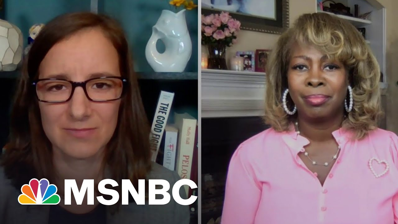 Advocates Says Challenging Voter Suppression Is 'The Fight Of Our lives'   The Last Word   MSNBC 1