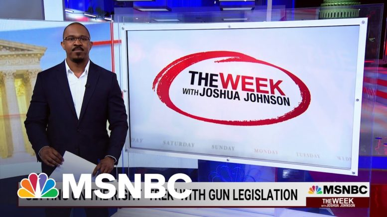 "Getting On The Right ""Trek"" With Gun Legislation   MSNBC 1"