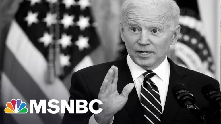 Congress Divided Over Biden's $2T Infrastructure Plan | MSNBC 1