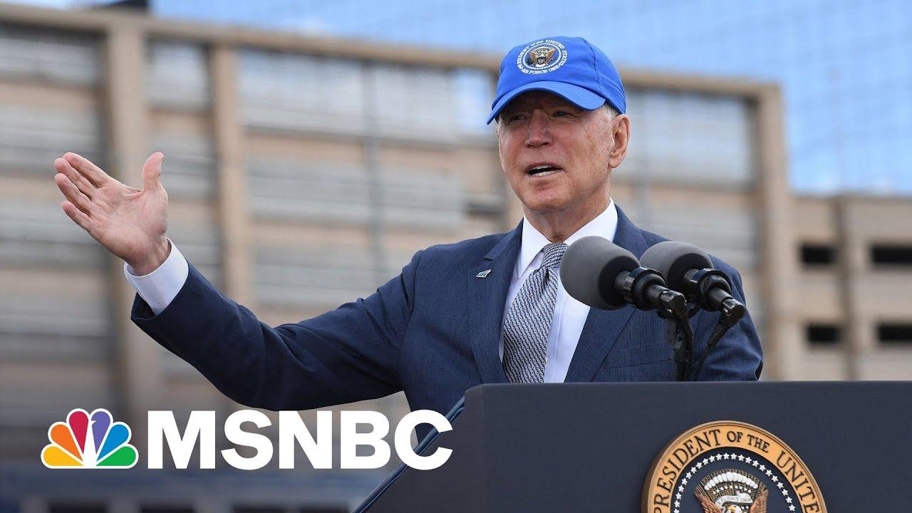 Biden Promotes His Jobs Plan At Event To Mark Amtrak's 50th Anniversary | MSNBC 2