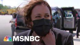 Harris Speaks On U.S. Restricting Travel To India   MSNBC 3