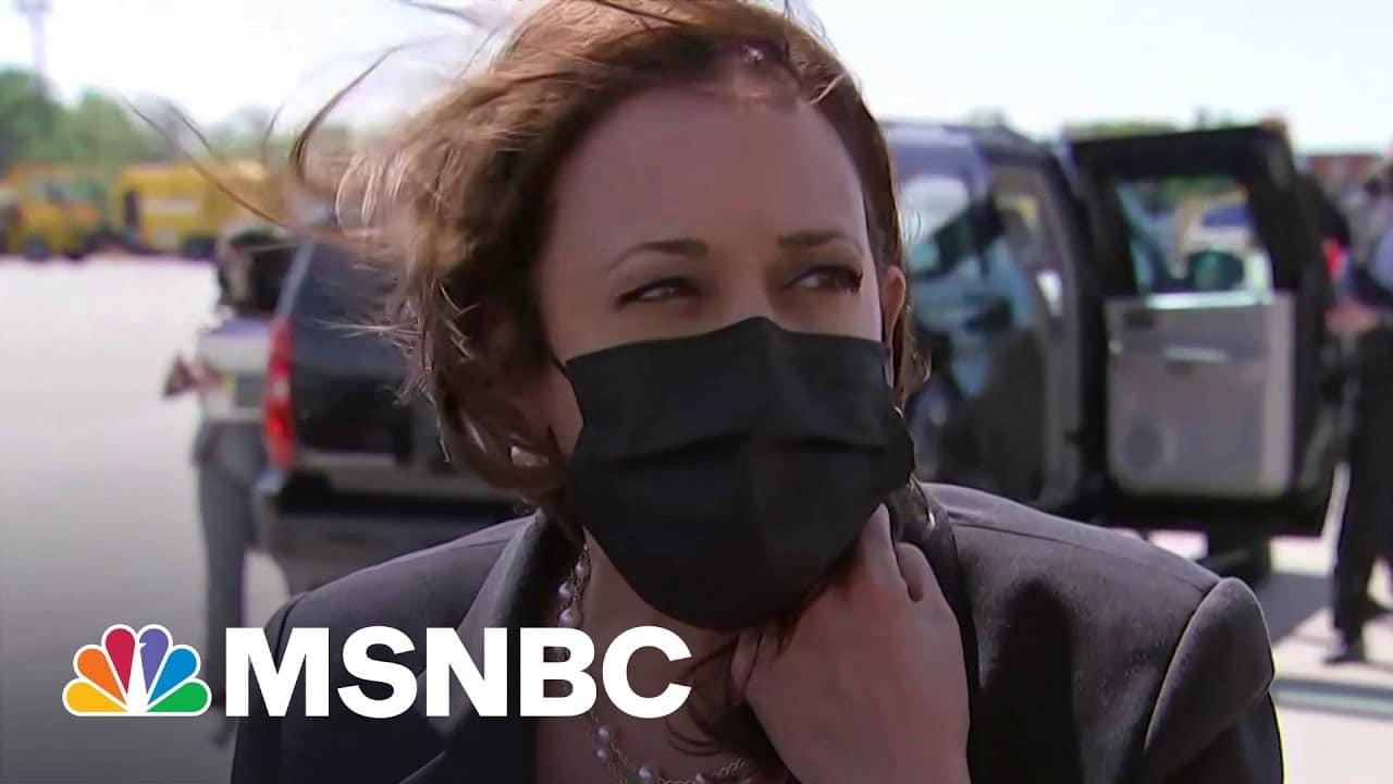 Harris Speaks On U.S. Restricting Travel To India | MSNBC 3