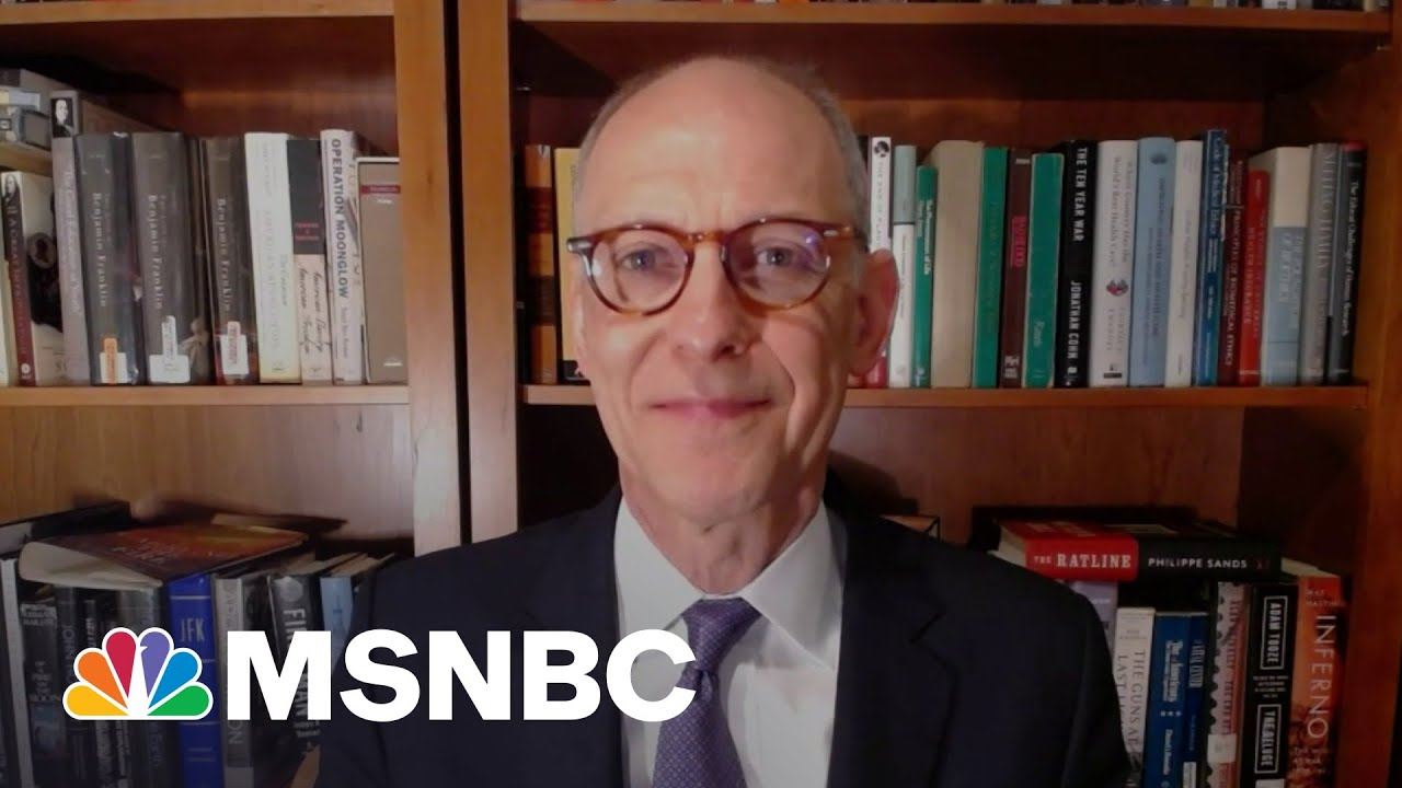 Dr. Zeke Emanuel: Forged Vaccine Cards Are 'A Serious Threat'   MSNBC 1