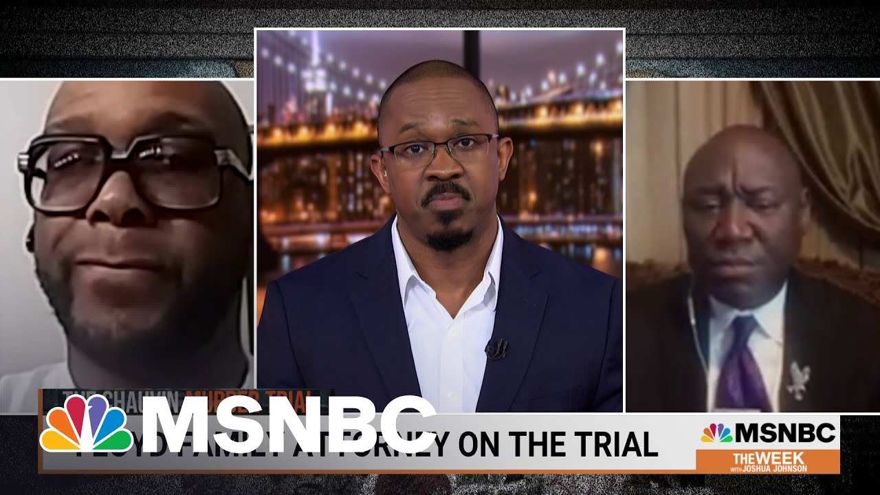 George Floyd's Brother Speaks Out On Chauvin Trial | MSNBC 1