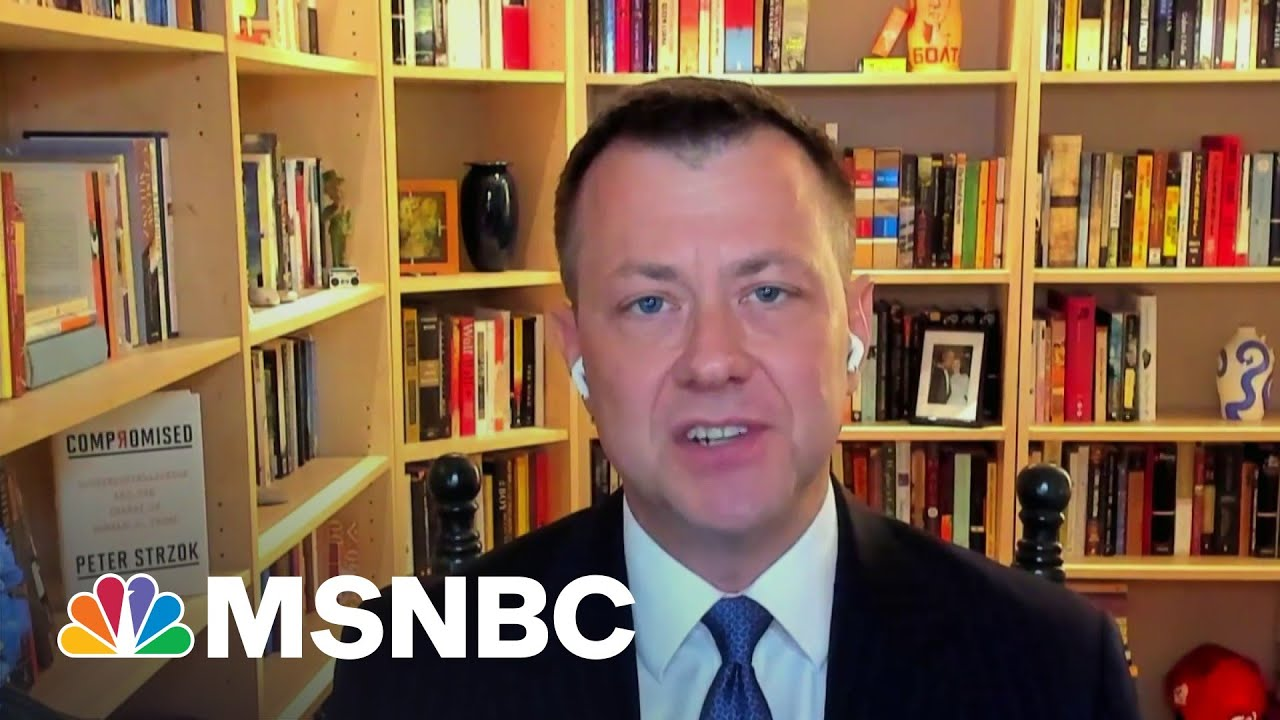 Peter Strzok Says Rudy Giuliani Is 'Smack Dab In The Middle' Of A Number Of Messes   MSNBC 1