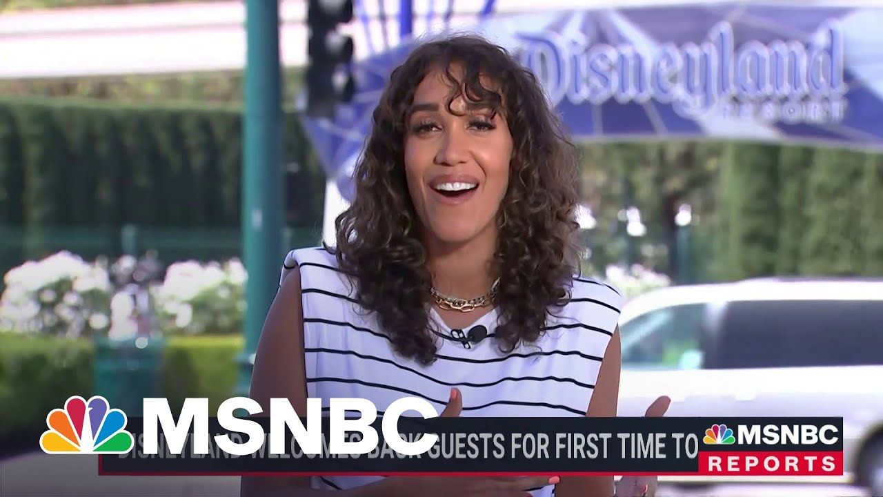 Disneyland Welcomes Back Guests For First Time Today | MSNBC 1