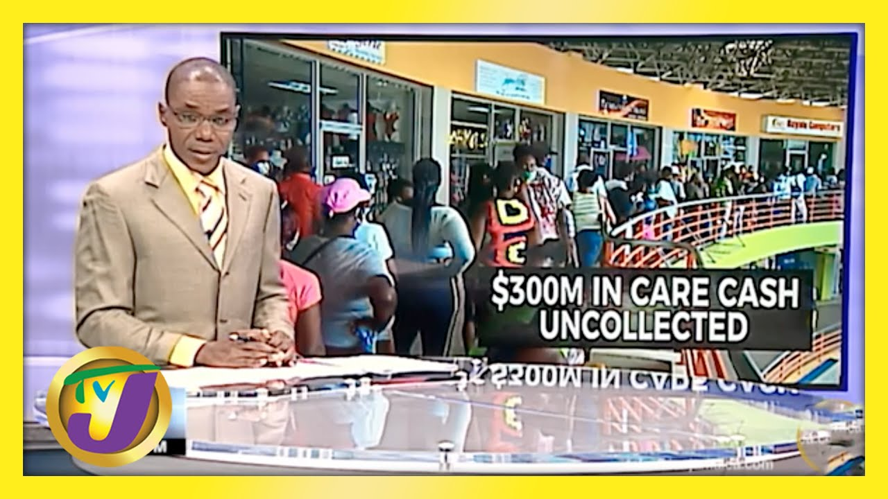$300M Uncollected in Jamaica's CARE Programme | TVJ News - April 2021 1