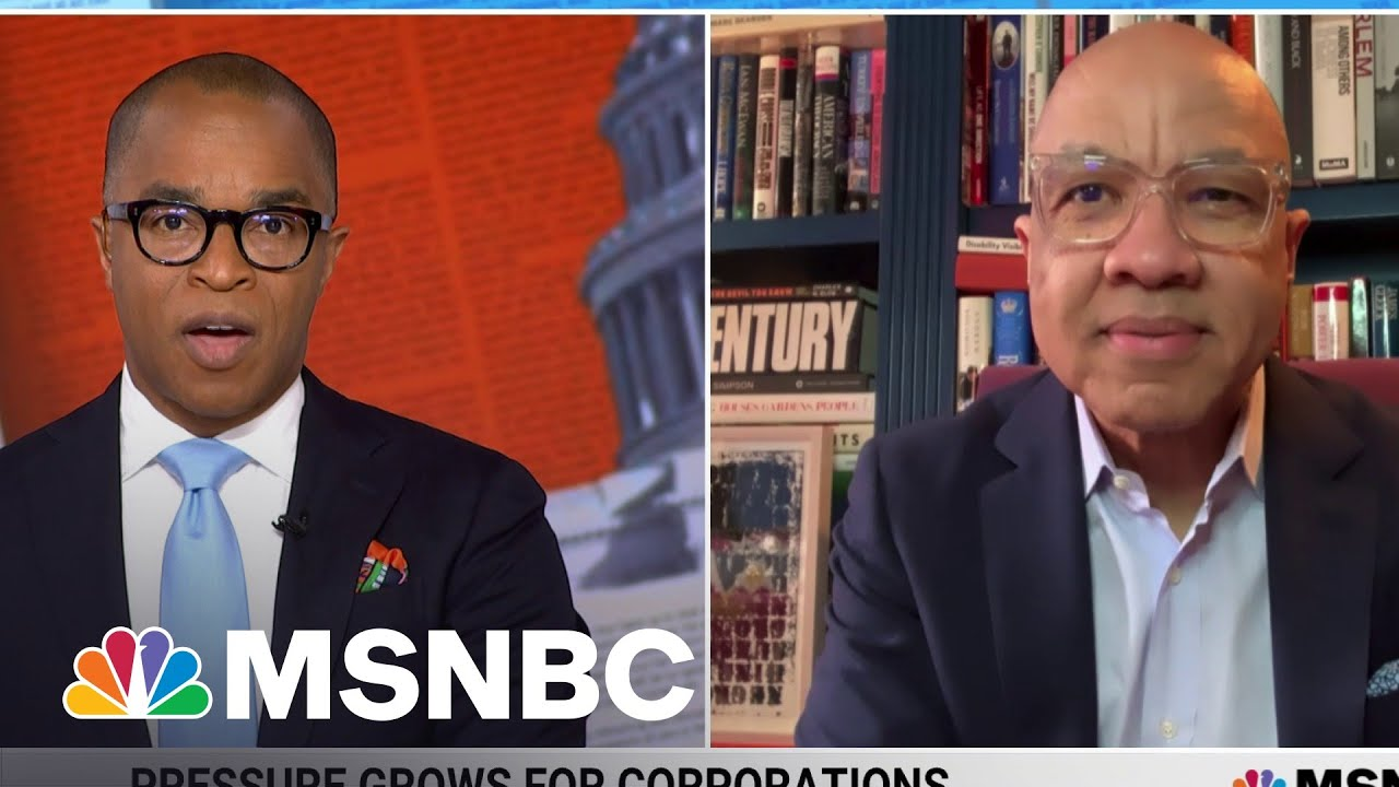 Ford Foundation President Critiques Lindsey Graham Denouncing HR 1 Voting Rights Bill | MSNBC 1