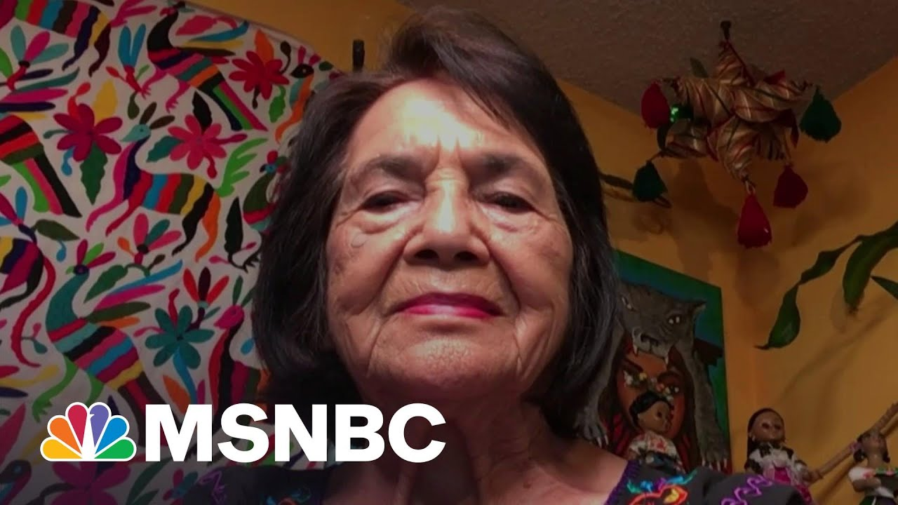 Dolores Huerta: 'We Need To Make Sure Our Farmworkers Are Protected' | The Last Word | MSNBC 1