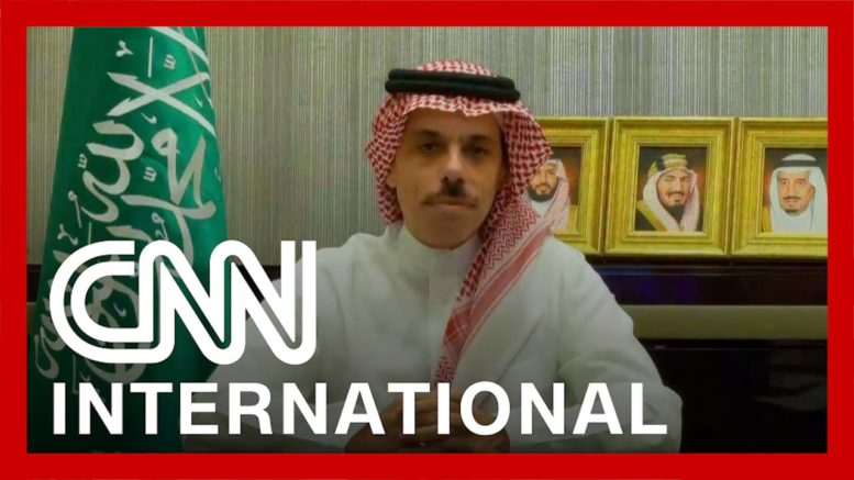 Saudi foreign minister speaks to CNN 1