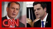 Stelter: Matt Gaetz is proving Boehner's warning about GOP right 5