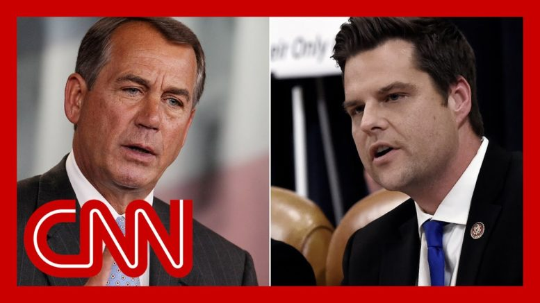 Stelter: Matt Gaetz is proving Boehner's warning about GOP right 1