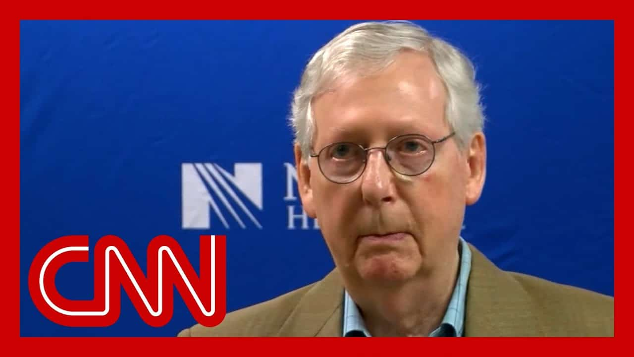 Watch McConnell's warning to corporate America 1