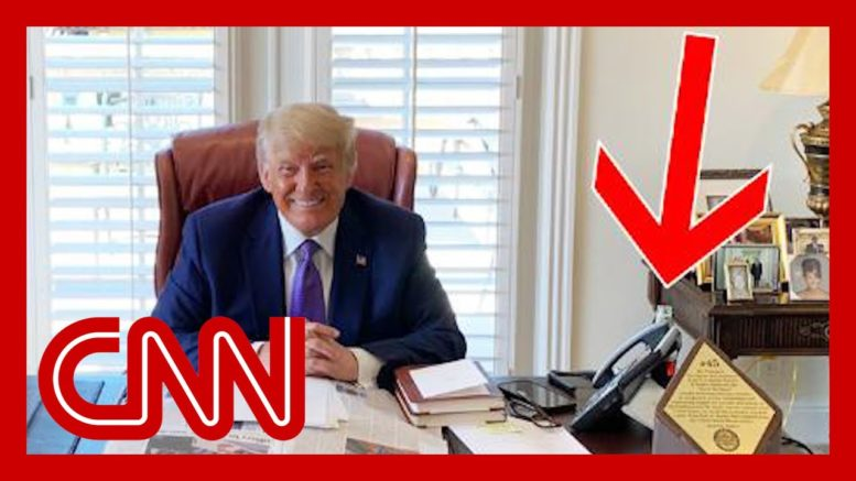 What internet sleuths spotted in Trump photo after his boycott call 1