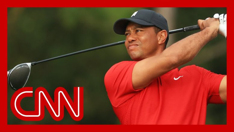 Police reveal what caused Tiger Woods crash 1