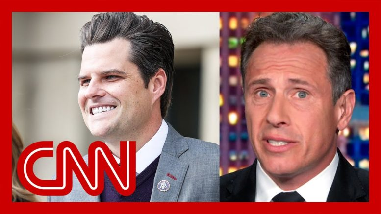 'I'm not kidding': Cuomo on Gaetz's next planned appearance 1
