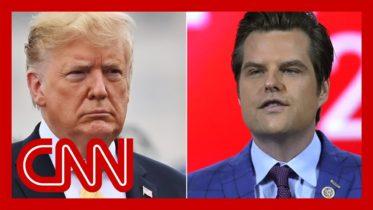 Donald Trump breaks his silence on Matt Gaetz 6