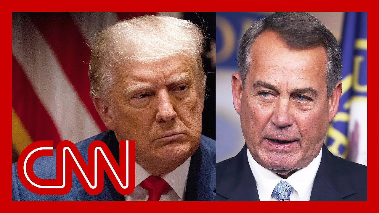 Boehner levels stunning charge against Trump 1