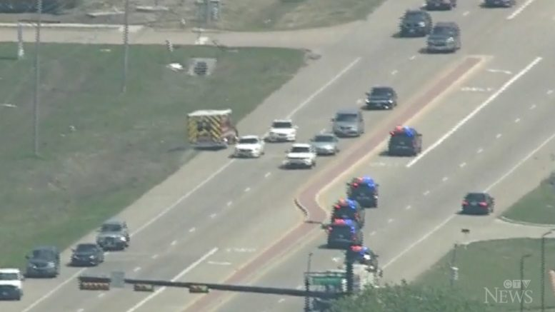 Stolen ambulance leads Dallas police on high-speed chase 1