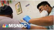 As Vaccinations Hit A New Record, Is It Time To Begin Re-Opening?   Morning Joe   MSNBC 4