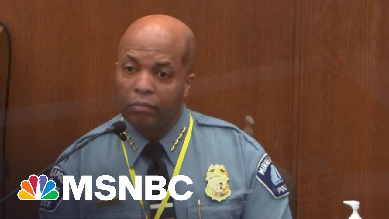 Minneapolis Police Chief: Policing Is About 'Treating People With Dignity And Respect' | MSNBC 2