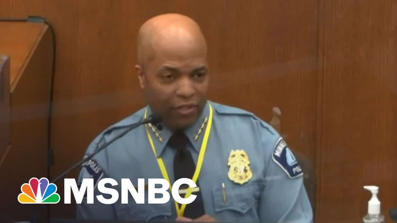 Fmr. NYPD Detective: Police Chief's Testimony Against Chauvin Set 'Professional Standard' 9