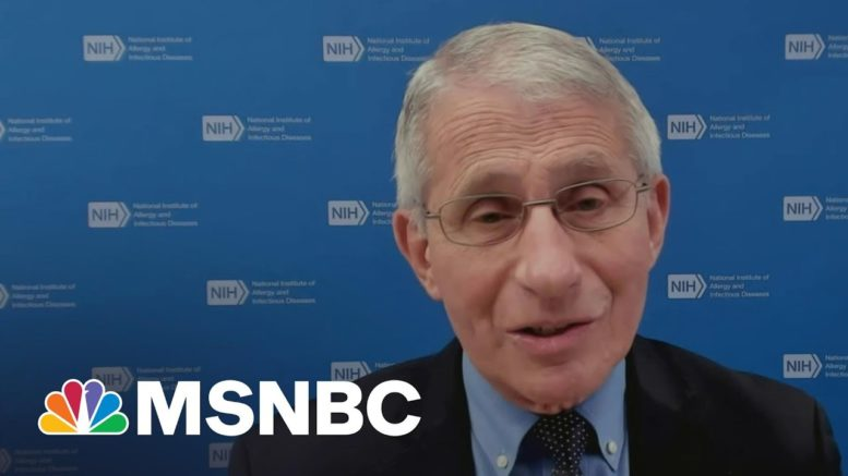 Dr. Fauci: We Don't Want To Declare Victory Against The Virus Prematurely | Morning Joe | MSNBC 1